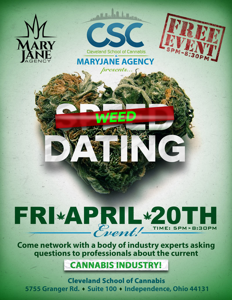 April 20th Weed Dating Event