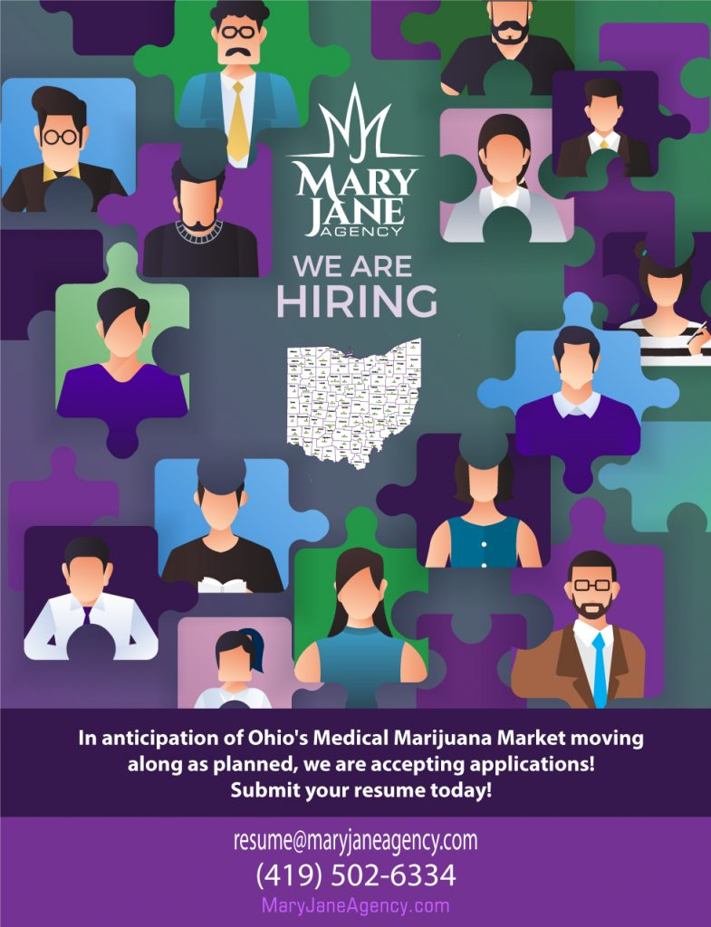 We Are Hiring - MaryJane Agency